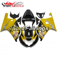Fairing Kit Fit For Suzuki GSXR600 750 2000 - 2003 - Yellow Black