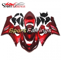 Fairing Kit Fit For Kawasaki ZX6R 2005 - 2006 - Pearl Red