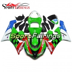 Fairing Kit Fit For Kawasaki ZX6R 2005 - 2006 - Green Red