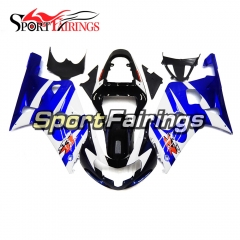 Fairing Kit Fit For Suzuki GSXR600 750 2000-2003 -Blue Black White