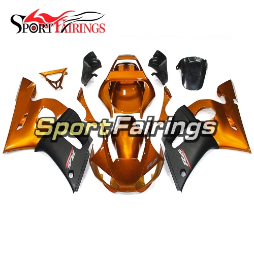 Fairing Kit Fit For Yamaha YZF R6 1998 - 2002 - Gold