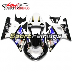Fairing Kit Fit For Suzuki GSXR600 750 2000-2003 -Black White Blue