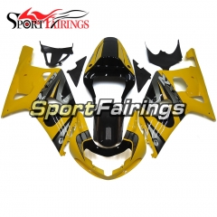 Fairing Kit Fit For Suzuki GSXR600 750 2000-2003 -Yellow Black