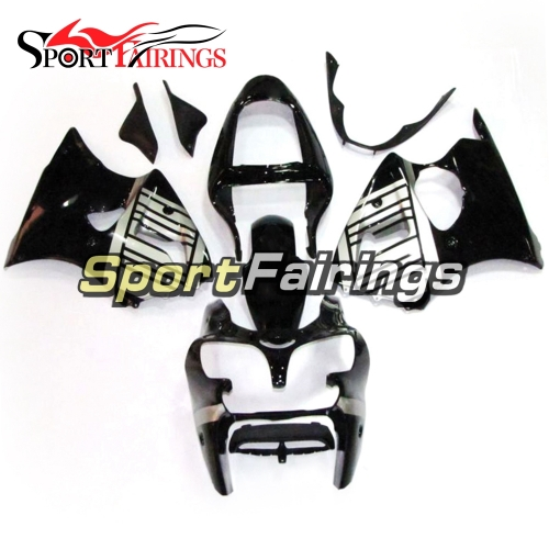 Fairing Kit Fit For Kawasaki ZX6R 2000-2002- Black Sliver
