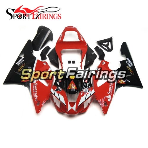 Fairing Kit Fit For Yamaha YZF R1 2000 2001 - Red Black