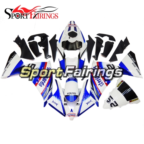 Fairing Kit Fit For Yamaha YZF R1 2012 - 2014 - White Blue