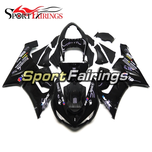 Fairing Kit Fit For Kawasaki ZX6R 2005 - 2006 - Touch 4 Black
