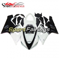 Fairing Kit Fit For Kawasaki ZX6R 2005 - 2006 - White Black