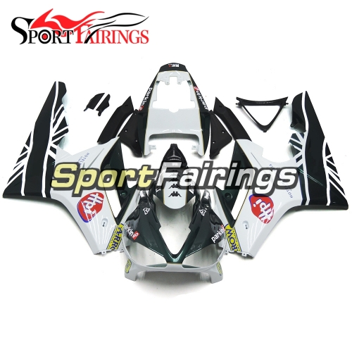 Fairing Kit Fit For Daytona675 2009 - 2012 -Parkin BE1 Racing Black White