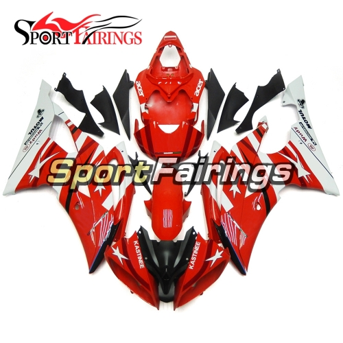 Fairing Kit Fit For Yamaha YZF R6 2008 - 2016 - Red White