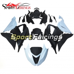 Racing Fairing Kit Fit For Kawasaki ZX6R 2013 - 2017 - White Black