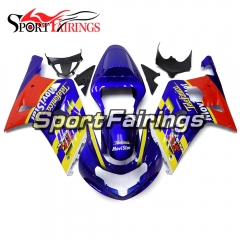 Fairing Kit Fit For Suzuki GSXR600 750 2000 - 2003 -Blue Red Black