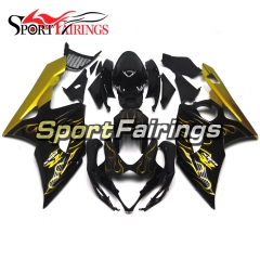 Fairing Kit Fit For Suzuki GSXR1000 K5 2005 - 2006 - Black Gold