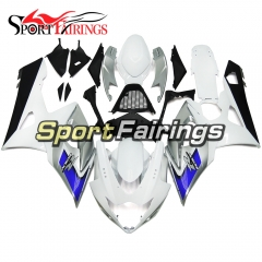 Fairing Kit Fit For Suzuki GSXR1000 K5 2005 - 2006 - White Silver