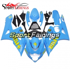 Fairing Kit Fit For Suzuki GSXR1000 K5 2005 - 2006 - Blue Yellow