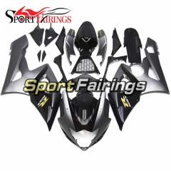 Fairing Kit Fit For Suzuki GSXR1000 K5 2005 - 2006 - Grey Black