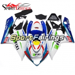 Fairing Kit Fit For Suzuki GSXR1000 K5 2005 - 2006 - White Blue