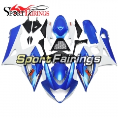 Fairing Kit Fit For Suzuki GSXR1000 K5 2005 - 2006 - Blue White