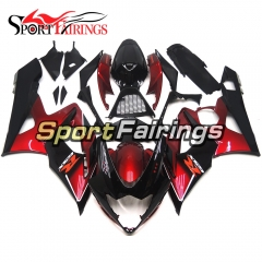 Fairing Kit Fit For Suzuki GSXR1000 K5 2005 - 2006 - Dark Red