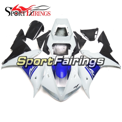 Fairing Kit Fit For Yamaha YZF R1 2002 2003 - White Blue