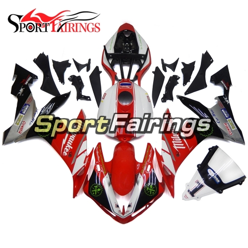 Fairing Kit Fit For Yamaha YZF R1 2004 - 2006 - Red White