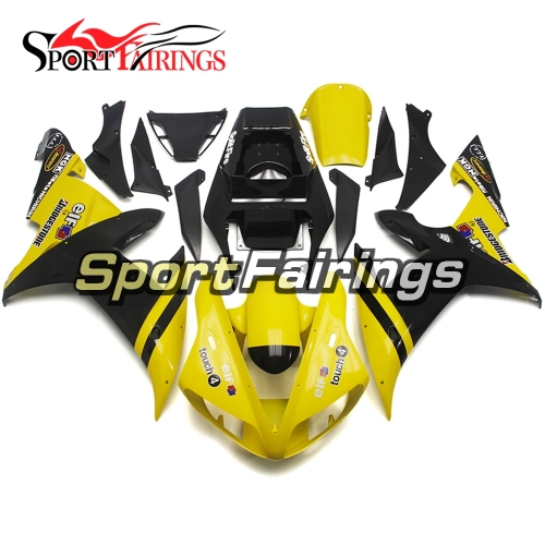 Fairing Kit Fit For Yamaha YZF R1 2002 2003 - Yellow Black