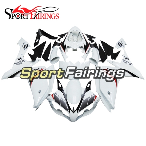 Fairing Kit Fit For Yamaha YZF R1 2007 2008 - White Grey