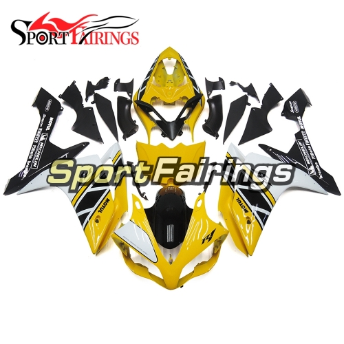 Fairing Kit Fit For Yamaha YZF R1 2007 2008 - Yellow White Black