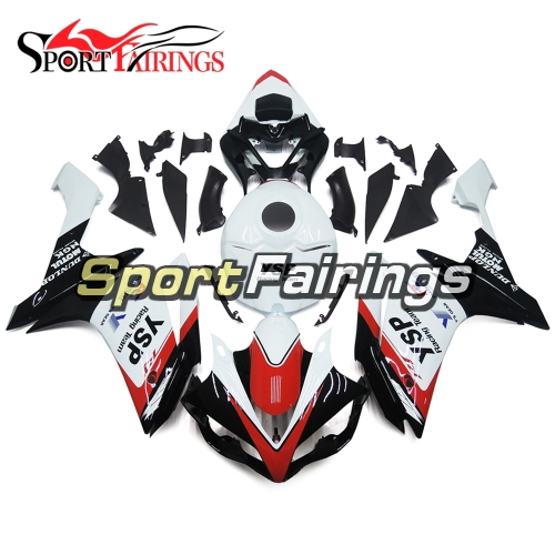 Fairing Kit Fit For Yamaha YZF R1 2007 2008 - White Black