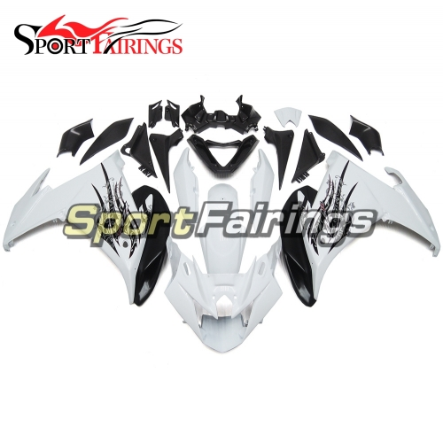 Fairing Kit Fit For Yamaha FZ6R 2009 2010 - White Black