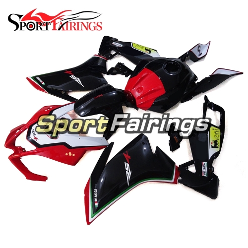 Fairing Kit Fit For Aprilia RS125 RS4 125 2012 - 2014 - Black Red White