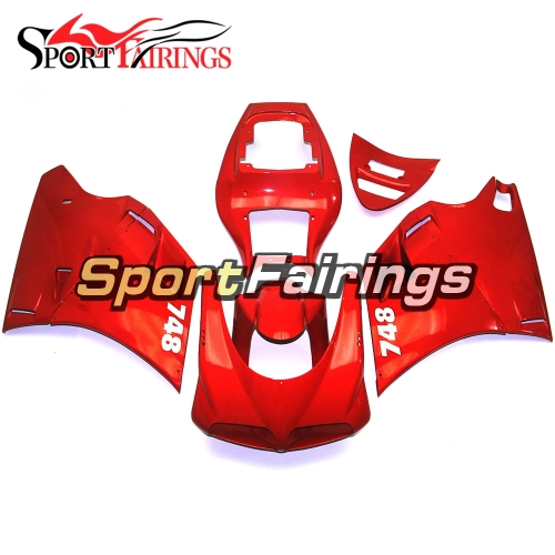 Fairing Kit Fit For Ducati 996/748/916/998 Biposto 1996 - 2002 - Gloss Red