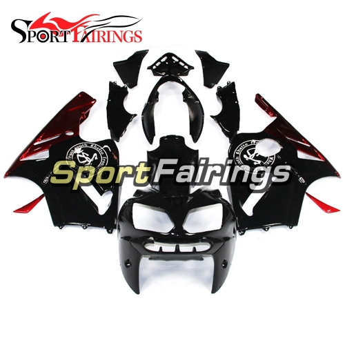 Fairing Kit Fit For Kawasaki ZX12R 2002 - 2006 -Black Red