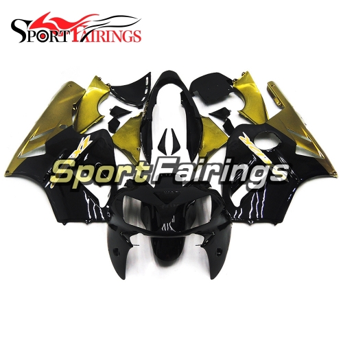 Fairing Kit Fit For Kawasaki ZX12R 2002 - 2006 -Black Gold