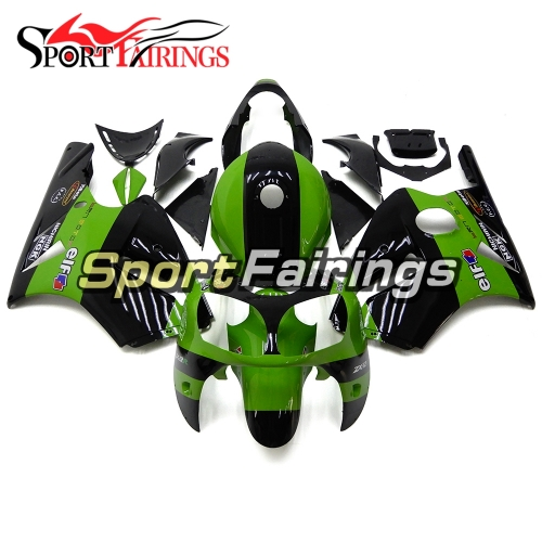 Fairing Kit Fit For Kawasaki ZX12R 2000 2001 -Green Black Elf
