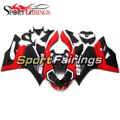 Fairing Kit Fit For Ducati 899/1199 2012 - 2013 - Gloss Red Black