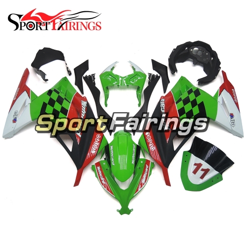 Fairing Kit Fit For Kawasaki EX300R / Ninja 300 2013 - 2015  -Green Black Red