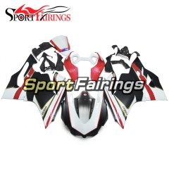 Fairing Kit Fit For Ducati 899/1199 2012 - 2013 - Black White