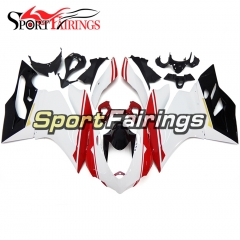 Fairing Kit Fit For Ducati 899/1199 2012 - 2013 - White Red