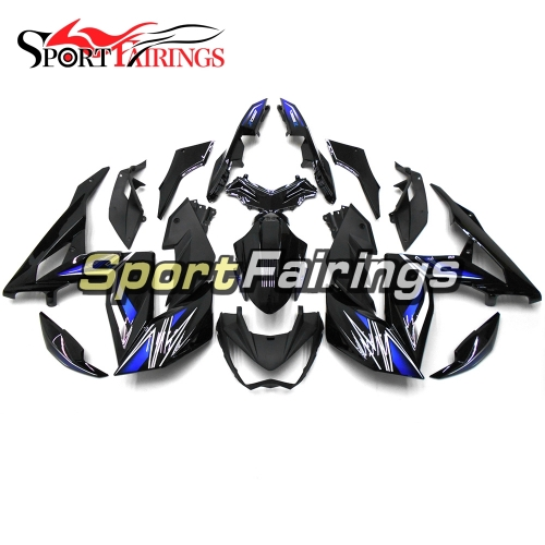 Fairing Kit Fit For Kawasaki Z250 / Z3 2014 - 2016 Blue Black