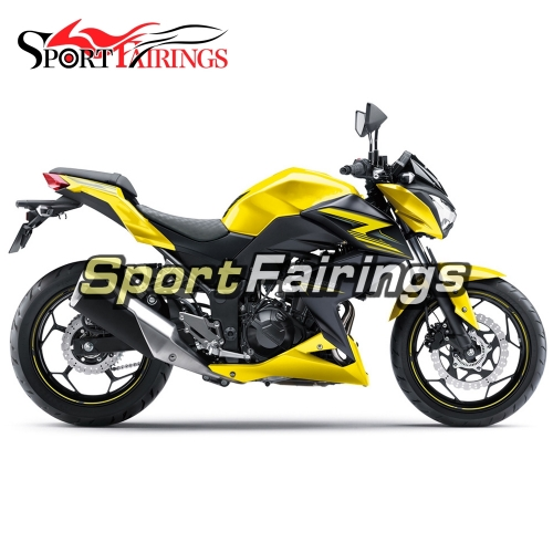 Fairing Kit Fit For Kawasaki Z250 / Z3 2014 - 2016 Yellow Black Special Edition