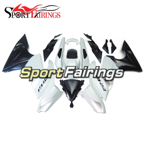 Fairing Kit Fit For Kawasaki ER-6F / Ninja 650r 2009 - 2011 - Black White
