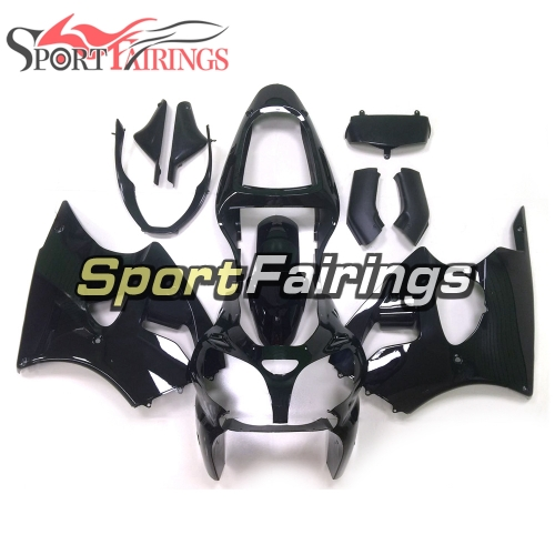 Fairing Kit Fit For Kawasaki ZX6R 2000-2002- Black