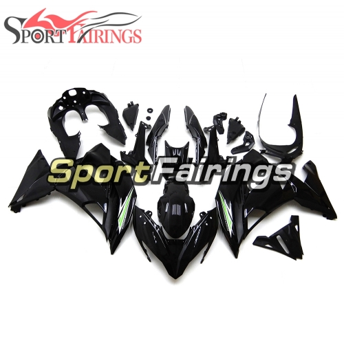 Fairing Kit Fit For Kawasaki ER-6F / Ninja 650r 2017 - Black