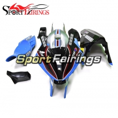 Fiberglass Racings Fairing Kit Fit For BMW S1000RR 2015 2016 - Blue Silver
