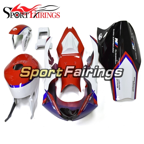 Fiberglass Racings Fairing Kit Fit For BMW S1000RR 2015 2016 - Red Blue