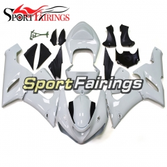 Fairing Kit Fit For Kawasaki ZX6R 2005 - 2006 - Pearl White