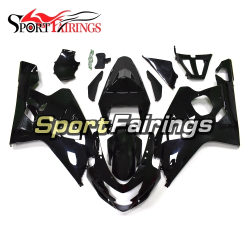 Fairing Kit Fit For Suzuki GSXR600 750 2004 - 2005 - Gloss Black