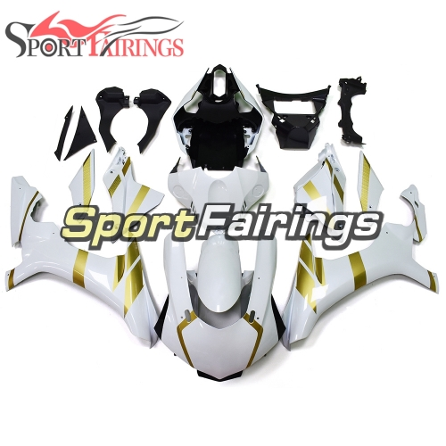 Fairing Kit Fit For Yamaha YZF R1 2015 2016 - White Gold