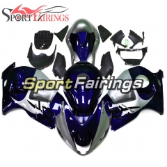 Fairing Kit Fit For Suzuki GSXR1300 Hayabusa 1997 - 2007 - Blue Silver